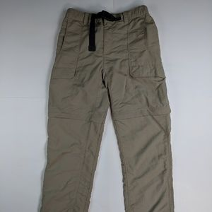 North Face Zip Off Pants Small